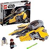 LEGO Star Wars Anakin's Jedi Interceptor 75281 Building Toy for Kids, Anakin Skywalker Set to Role-Play Star Wars…