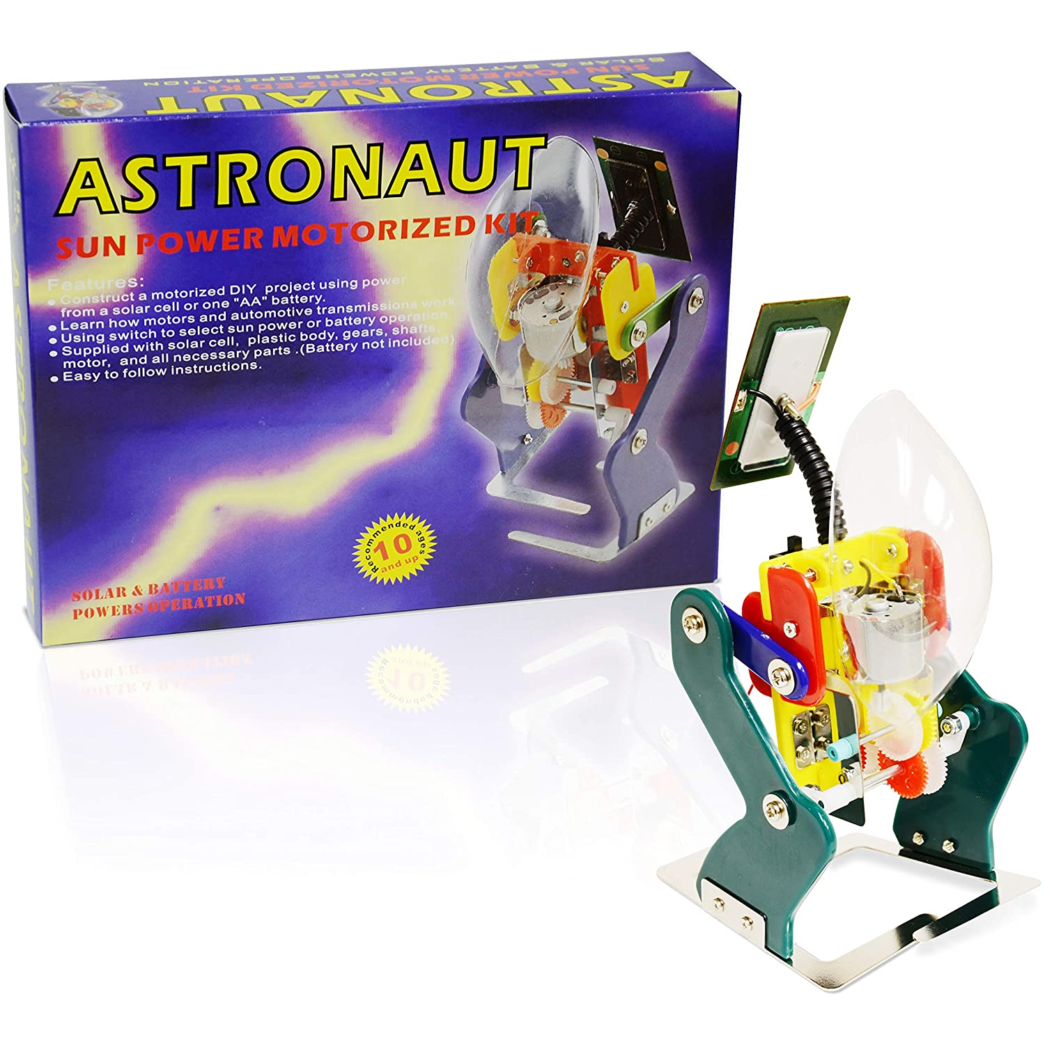 Elenco  Astronaut Sun Power Kit Elenco Electronics Inc 21-665