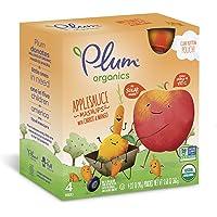 24-Count Plum Organics Applesauce Mashups with Carrot & Mango
