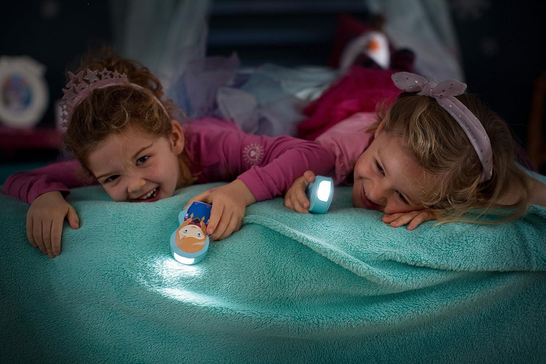 Philips Disney Frozen Princess Elsa Childrens Night Light and Flashlight 1 x 0.3 W, Integrated LED