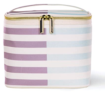 80585bb95 Image Unavailable. Image not available for. Color: Kate Spade New York  Insulated Lunch Tote, Two-Tone Stripe