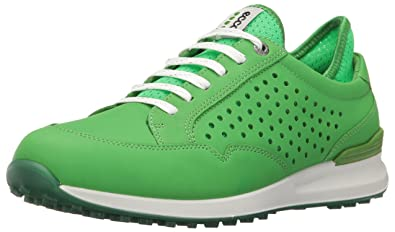 Ecco Damen Women's Golf Speed Hybrid Golfschuhe, Grün (50095MEADOW/Toucan Neon), 39 EU