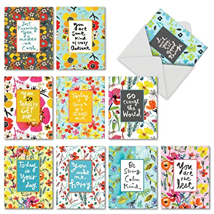 Amazon 10 assorted thank you cards 4 x 5 featuring 10 assorted thank you cards 4 x 5 featuring m4hsunfo