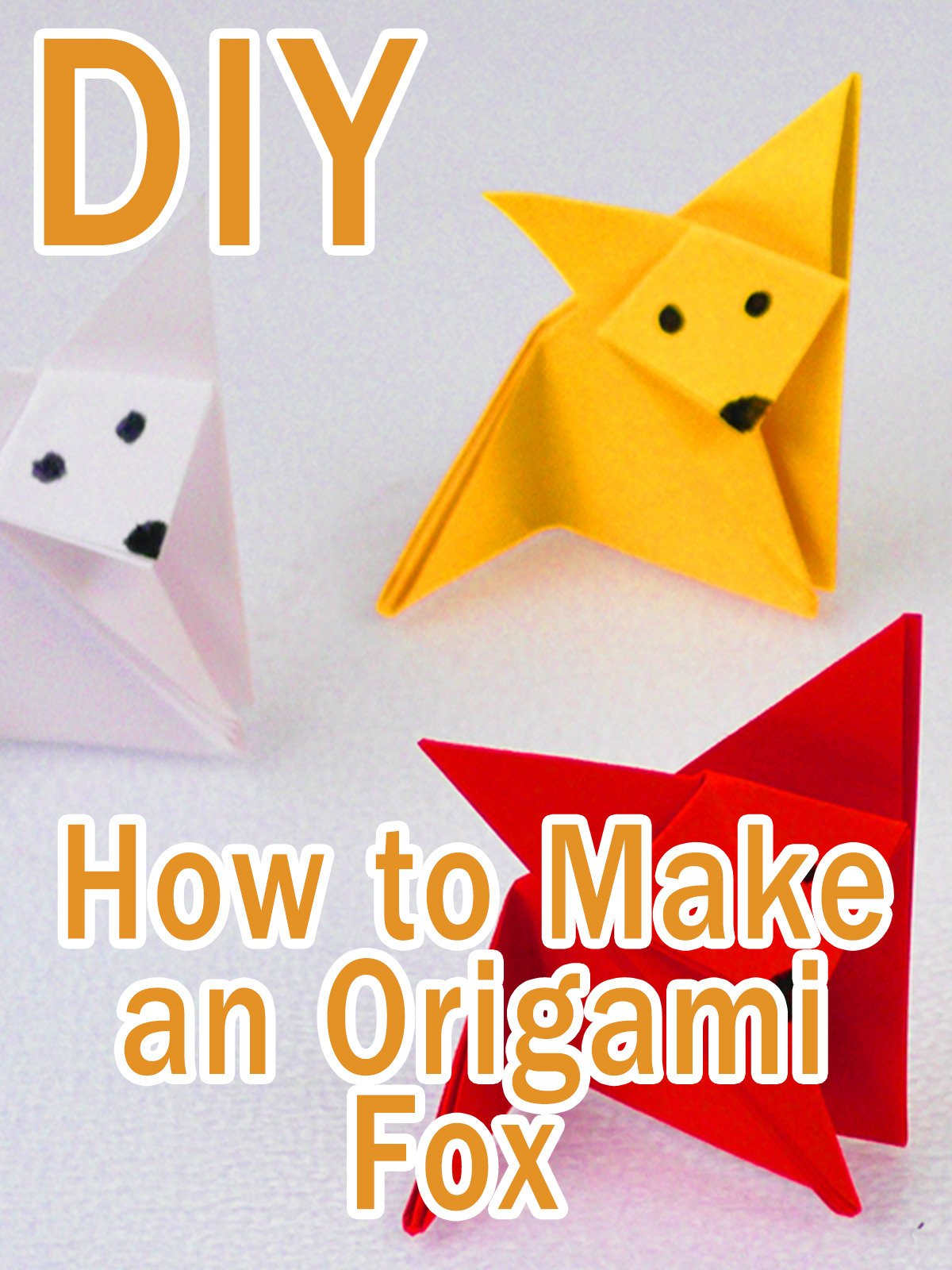 Activity Sheet – Origami Fox – Plastic Free Party Bags | 1600x1200