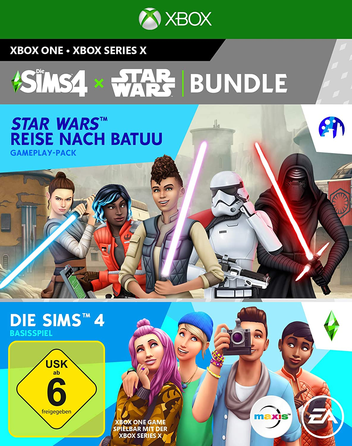 Die Sims 4 Star Wars Journey to Batuu Xbox Series X