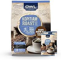 Owl Kopitiam Roast & Ground Kopi Siew Dai Coffee, 30G (Pack of 15)