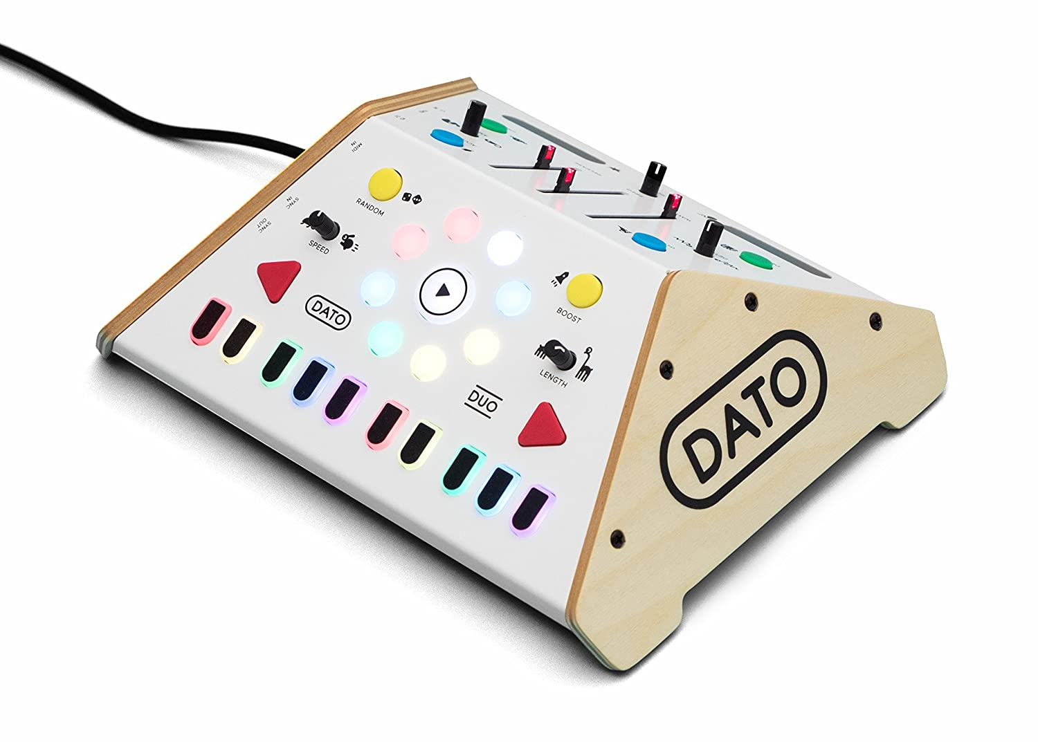 DUO Two-player Monophonic Synthesizer and Sequencer Dato