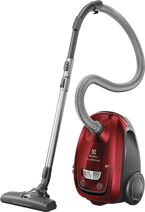Electrolux EUSC66-CR - Aspiradora con Bolsa, Potencia máx. 600 W, Sistema de aspiración AeroPro, 2 cepillos, Accesorio 3 en 1, Rojo: Amazon.es: Hogar