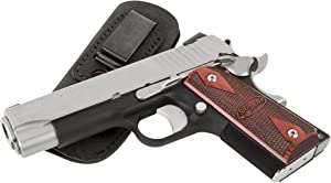 Relentless Tactical The Ultimate Suede Leather IWB Holster - Made in USA - Fits 1911 Style Handguns - Kimber - Colt - S & W - Sig Sauer - Remington - Ruger & More