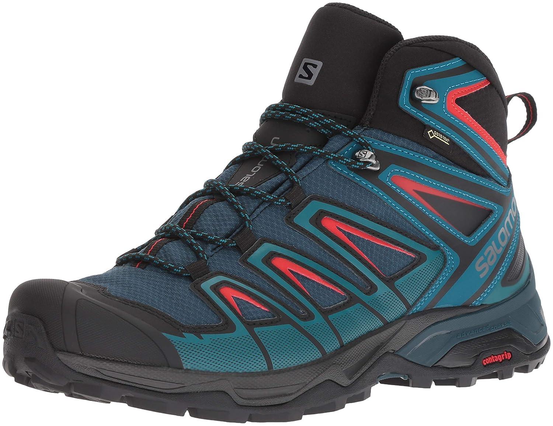 Salomon X Ultra 3 3 Ultra Mid GTX - Chaussures Randonnée Homme 43 1/3|bleu p?trole/bleu nuit df147f