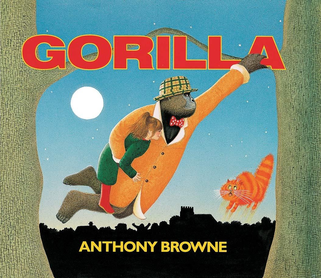 Gorilla (large format) (Big Books): Amazon.co.uk: Browne, Anthony, Browne,  Anthony: Books