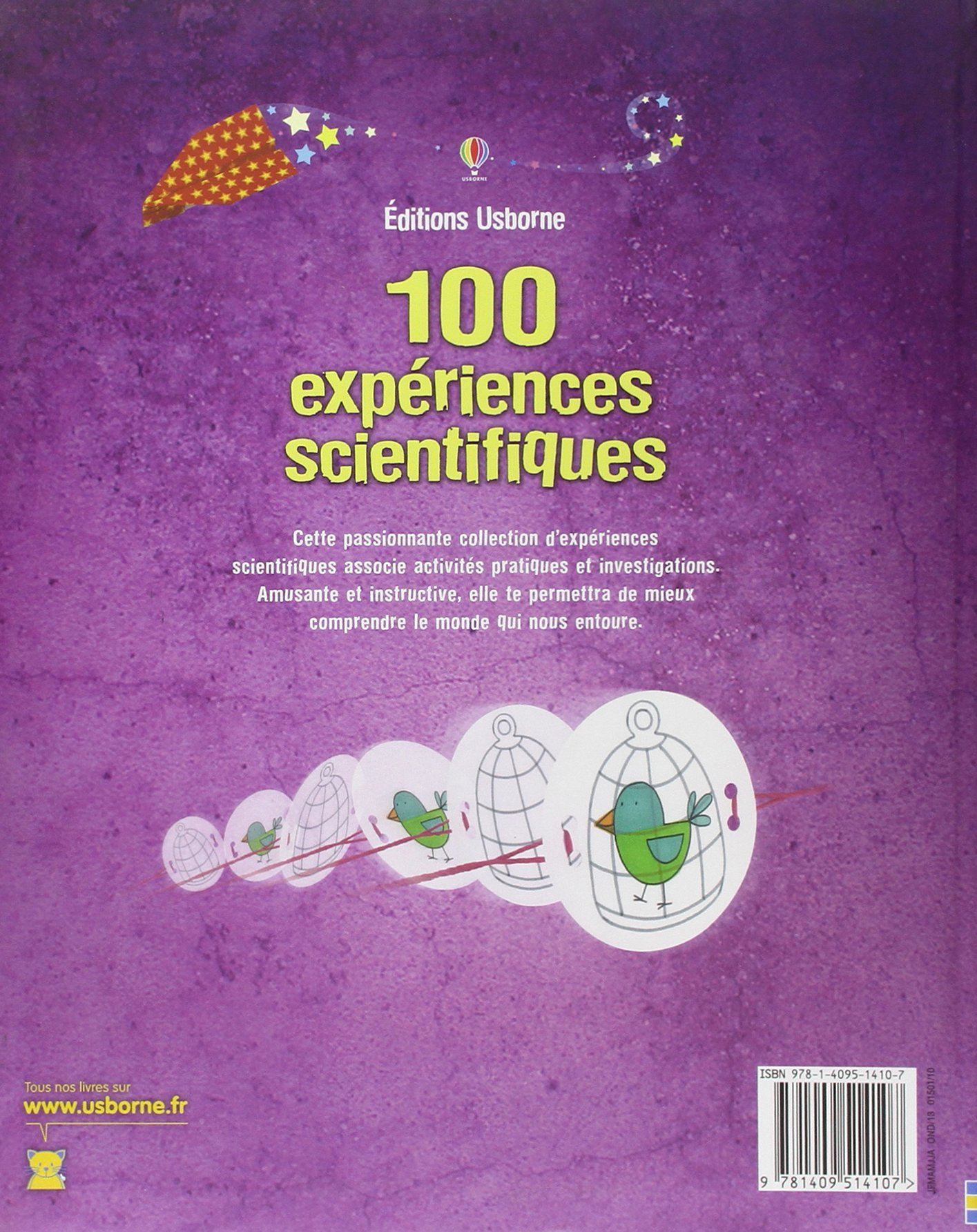 100 expériences scientifiques - avec liens internet: Amazon.fr: Georgina  Andrews, Kate Knighton, Stella Baggott, Zoe Wray, George Bogdis: Livres