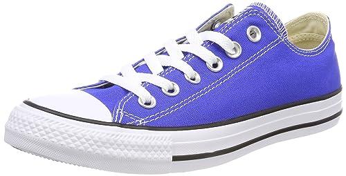 Converse Chuck Taylor Ctas Ox Canvas, Sneaker Unisex-Adulto, Blu (Hyper Royal 483), 45 EU