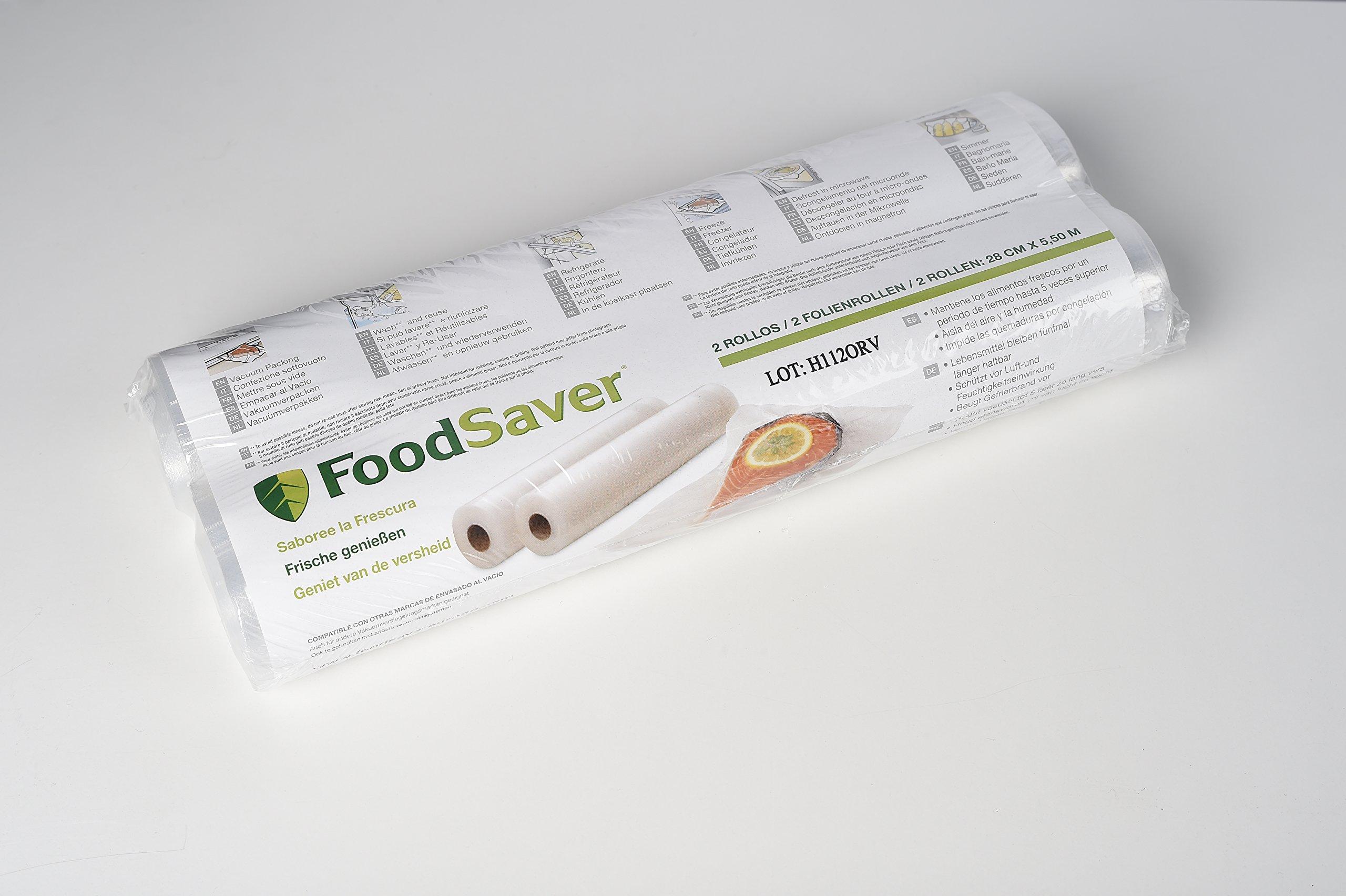 Foodsaver FSR2802-I - Rollos para envasado al vacío product image