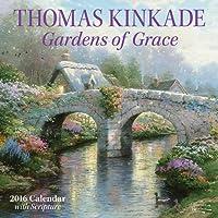 Thomas Kinkade Gardens of Grace 2016 Wall Calendar