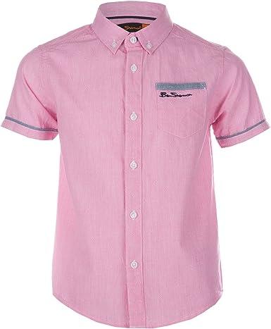 Ben Sherman Camisa Bebé de rayas finas para niño en color ...