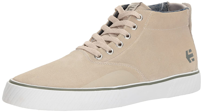 Etnies Men's Jameson Vulc MT Skate Shoe White/Green/Gum