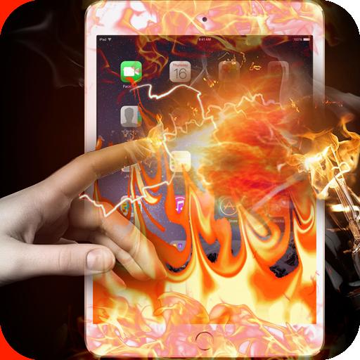 Fire Screen Transparent Prank (Screen Firescreen)