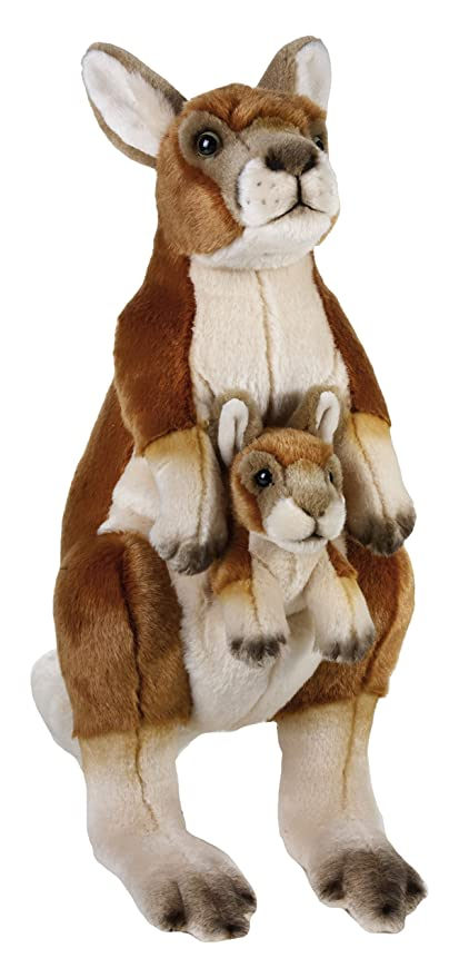 National Geographic Kangaroo Stuffed Animals Plush Family Set (3 Piece)
