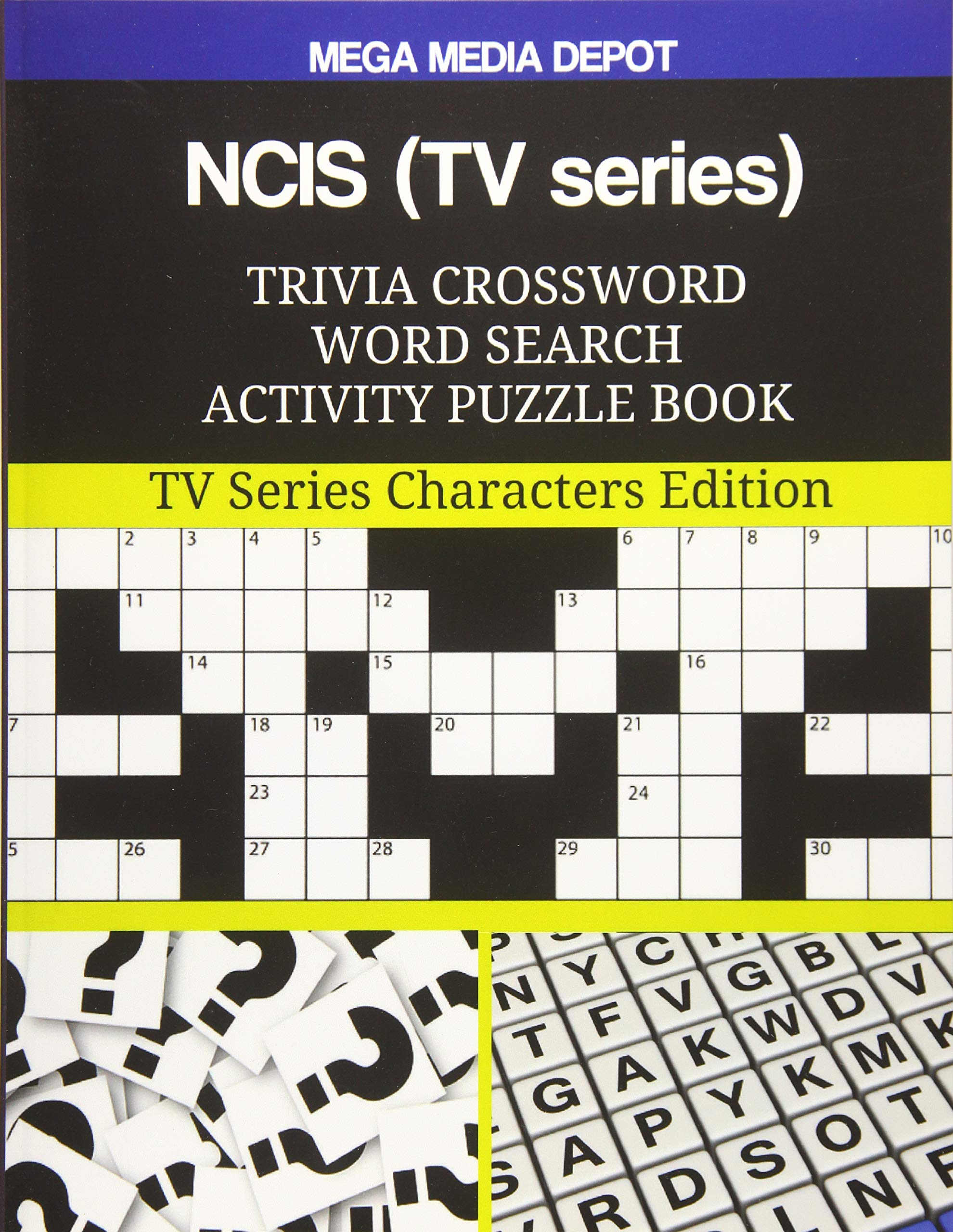 Cool Amazon Com Ncis Tv Series Trivia Crossword Word Search Home Interior And Landscaping Elinuenasavecom