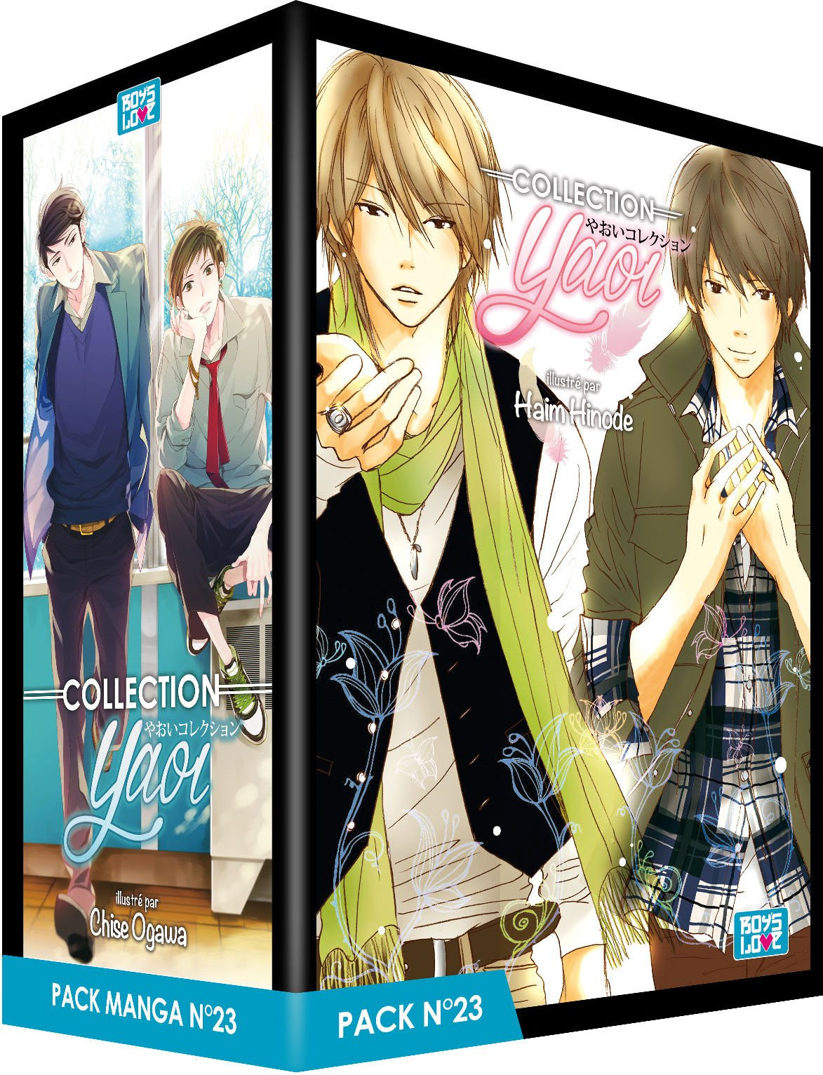 Collection Yaoi Pack N° 23 : 5 mangas (Boys love): Amazon.es ...