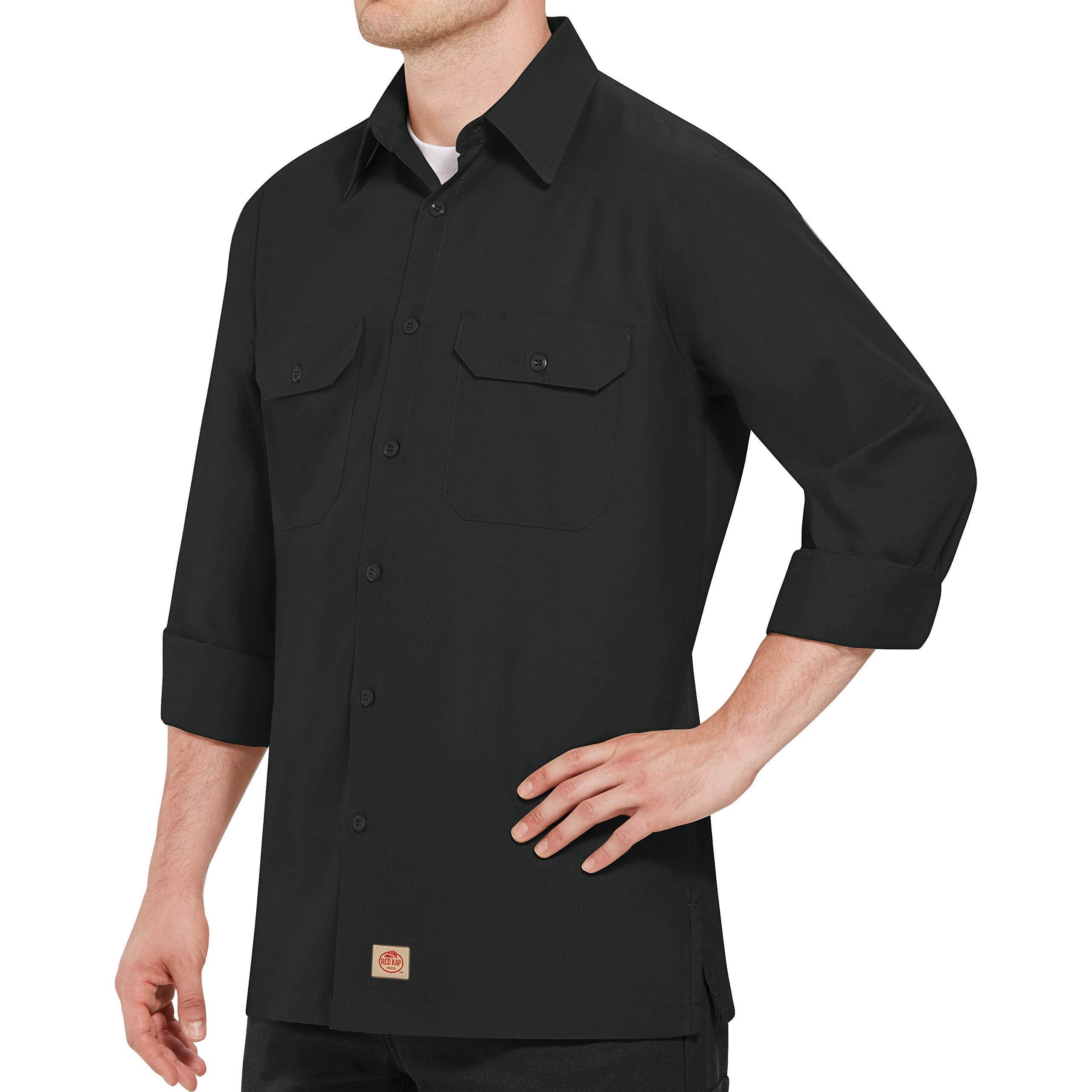 Red Kap Men's RK Solid Rip Stop Shirt