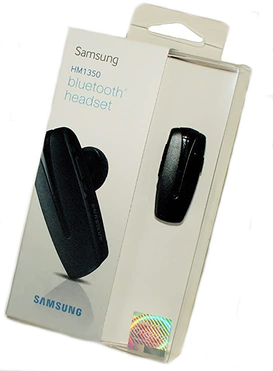 Samsung Mono Handy Bluetooth Headset - HM1350 - für Mobiltelefone mit Bluetooth Einrichtung - in der Original Verpackung