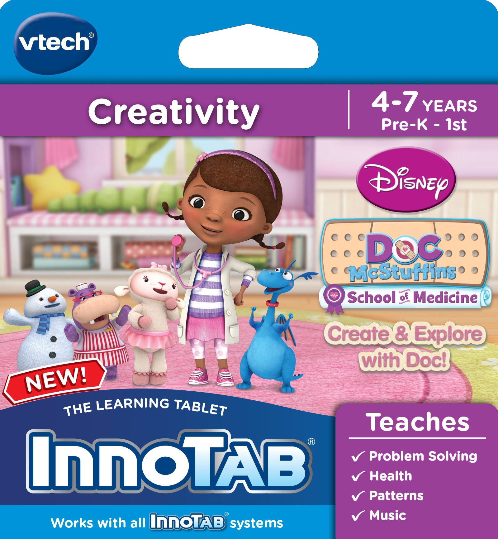 VTech InnoTab Software, Disney's Doc McStuffins Create and Explore by VTech