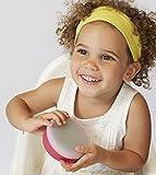modern-twist Baby Snack Bowls – 100% plastic free silicone, waterproof, dishwasher safe, pink