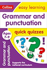 Grammar & Punctuation Quick Quizzes Ages 7-9: Prepare for school with easy home learning (Collins Easy Learning KS2) Kindle Edition