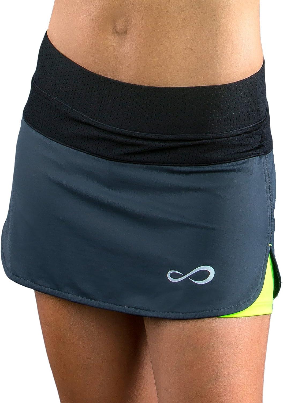 S Gris ENDLESS 1000040200071 Falda de Tenis Mujer