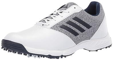 8220b8757f Amazon.com   adidas Womens TECH Response Golf Shoe, White/Silver ...