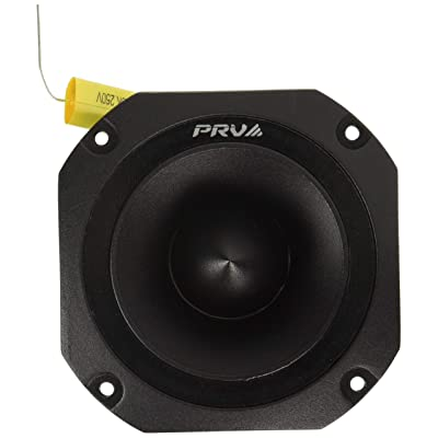 """PRV Audio TW700Ti Titanium 4"""" Bullet Super Tweeter 8 ohms 1.5"""" VC Pro Audio High Frequency Driver 107dB 120 Watts RMS – Built-In Polyester Capacitor: Home Audio & Theater"""