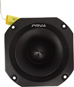 "PRV Audio TW700Ti Titanium 4"" Bullet Super Tweeter 8 ohms 1.5"" VC Pro Audio High Frequency Driver 107dB 120 Watts RMS – Built-In Polyester Capacitor"