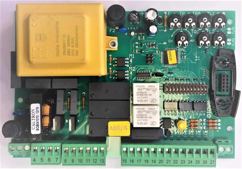 NICE SPSB138D recambio de tarjeta electrónica para centrales de control A60: Amazon.es: Bricolaje y herramientas