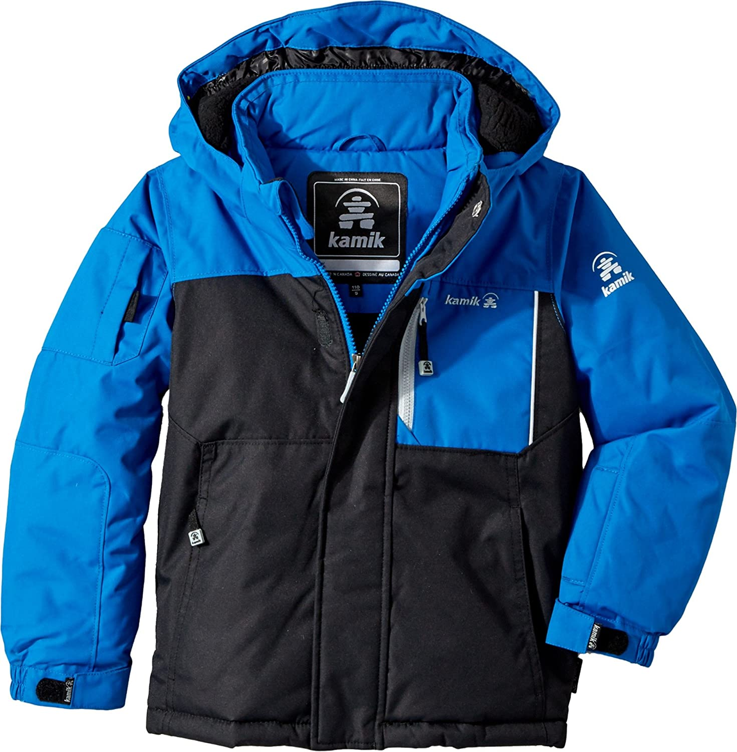 74ecf6bc6 Amazon.com   Kamik Winter Apparel Boys Vector Jacket   Clothing