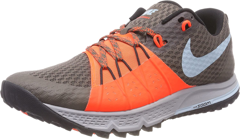 Nike Air Zoom Wildhorse 4, Zapatillas de Running para Asfalto para Hombre, Marrón (Ridgerock/Ocean Bliss-Total Crimson 200), 44 EU: Amazon.es: Zapatos y complementos