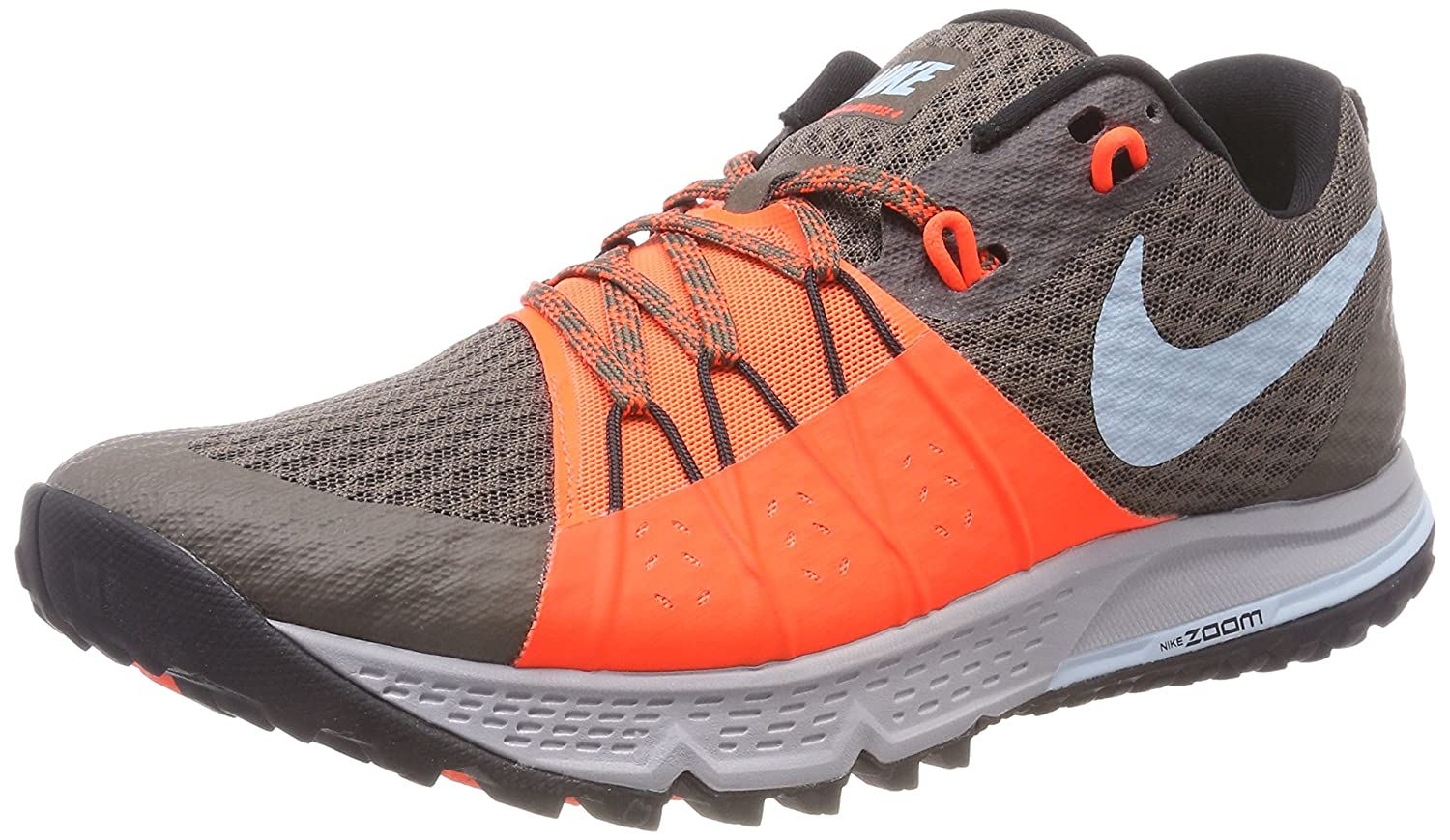 Nike Air Zoom Wildhorse 4, Zapatillas de Running para Asfalto para Hombre 44.5 EU|Marrón (Ridgerock/Ocean Bliss-total Crimson 200)