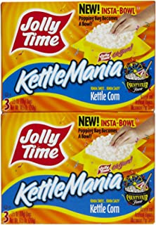 product image for Jolly Time KettleMania Microwave Popcorn, Kettle Corn - 3 pack