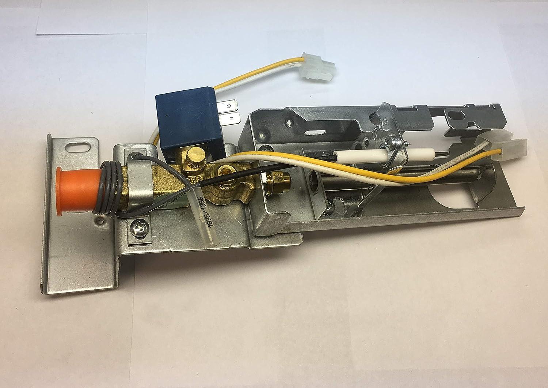Dometic 3850730569 Refrigerator Gas Valve Burner Assembly