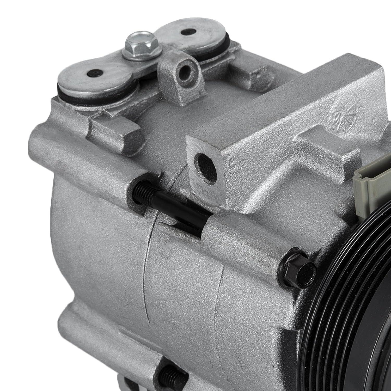 Mophorn CO 101290C 4L3Z19703AB Universal Air Conditioner AC Compressor for 93-07 Ford Lincoln Mercury Thunderbird F150 4.2L 4.6L 5.4L 6.8L FS10 A//C Compressor Assembly 58129 57129 58165 57165
