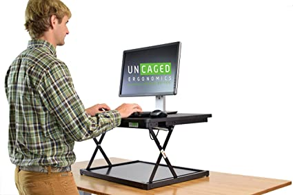 Amazon Com Changedesk Mini Affordable Adjustable Height Laptop