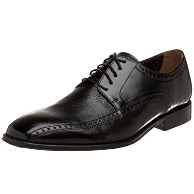 2017 University Florsheim Curtis MediumXWide Bicycle Toe Oxford Black