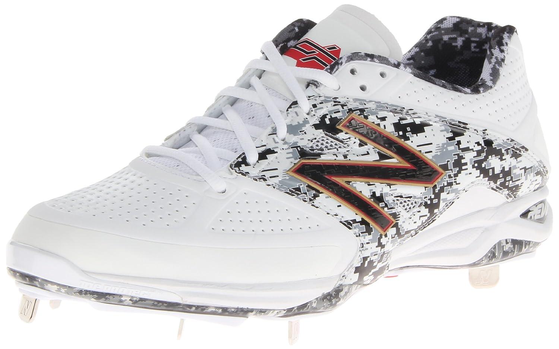 New Balance Men's L4040 Metal Low Baseball Shoe New Balance Team Footwear L4040 Baseball Metal Low-M