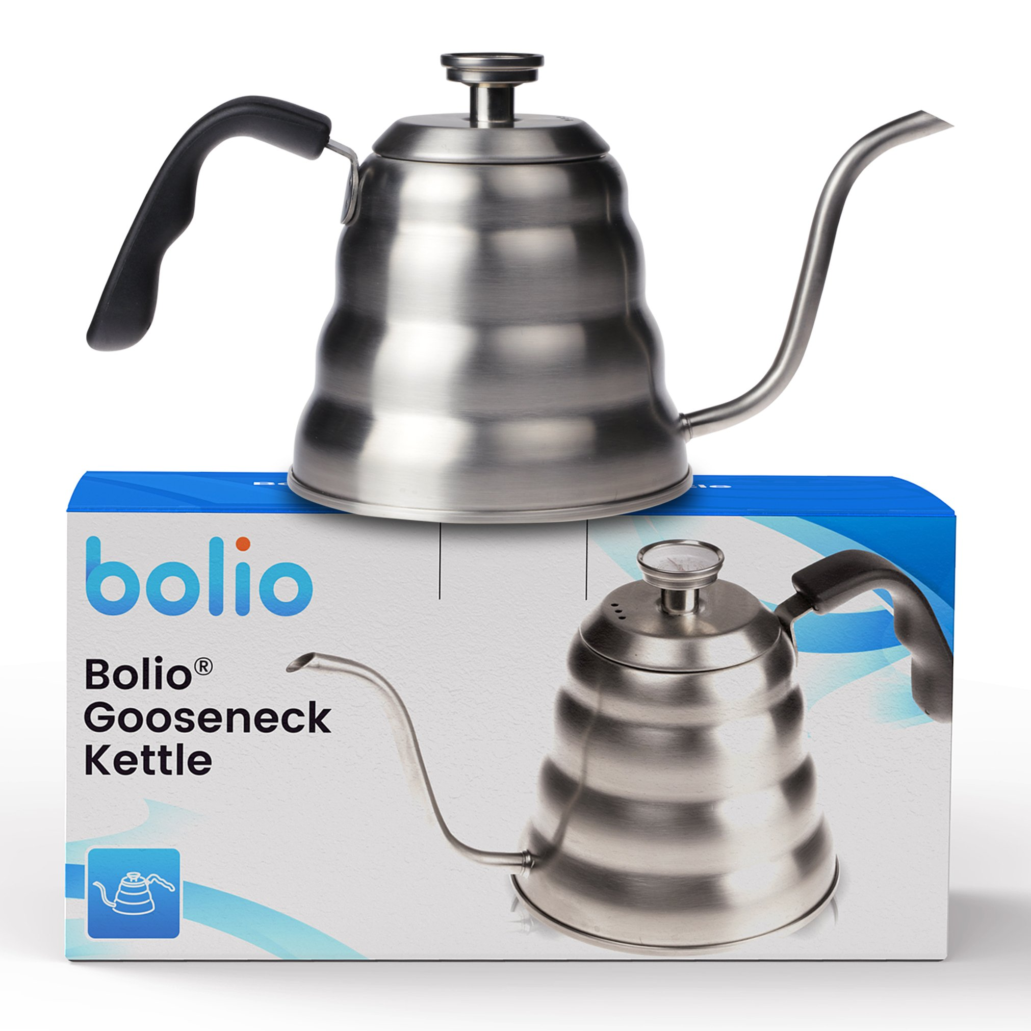 Bolio - Premium Pour Over Coffee Kettle - Discover how much better coffee tastes when you make it by hand using the right tools.