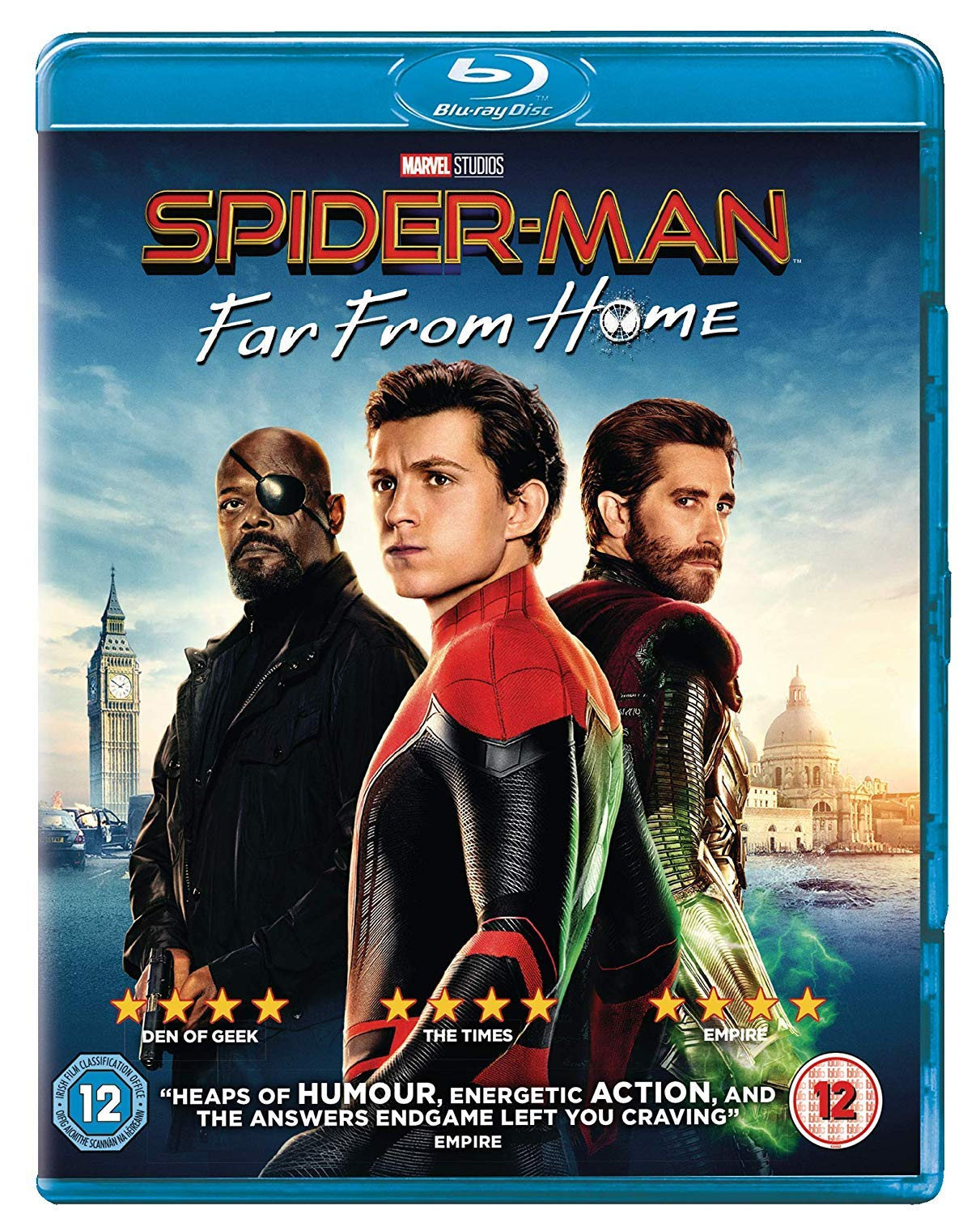 Spider-Man: Far From Home [Blu-ray] [2019] [Region Free]