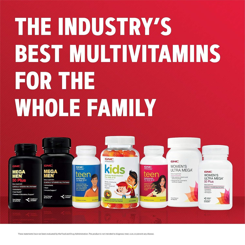 GNC Mega hombre Multi vitamina, 180 hilos: Amazon.es: Salud y cuidado personal