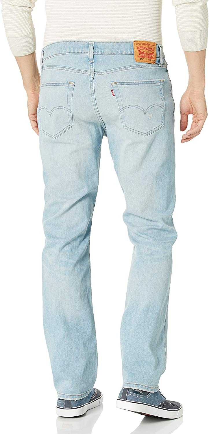 Levi's Men's 541 Athletic Fit Jean Davie Dust - Destructed - Stretch