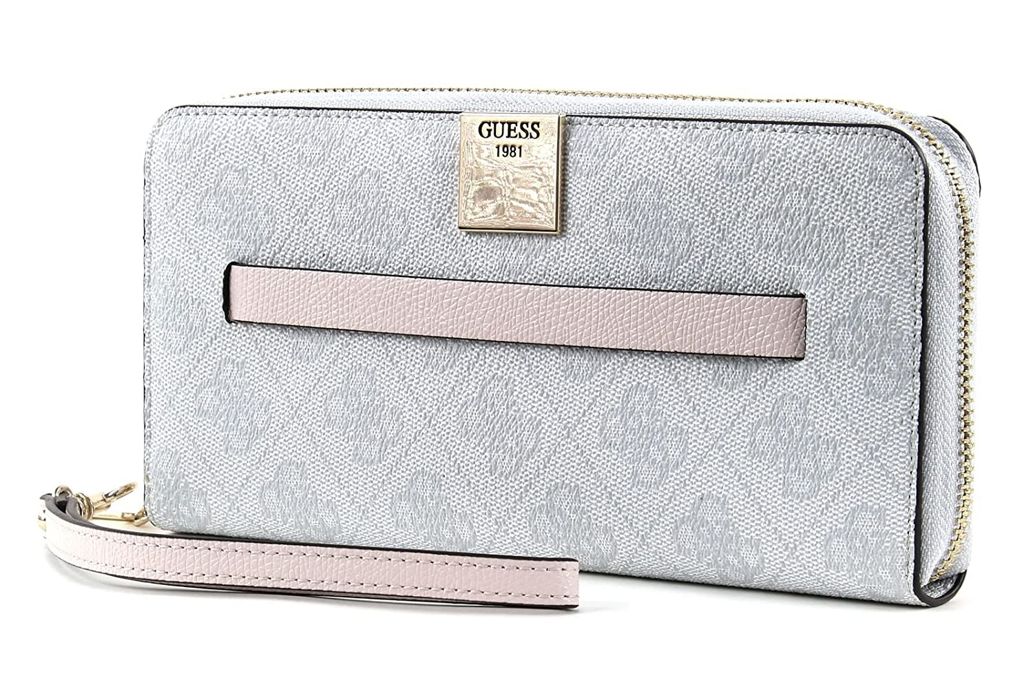 GUESS Christy SLG Large Zip Around Cement: Amazon.es ...