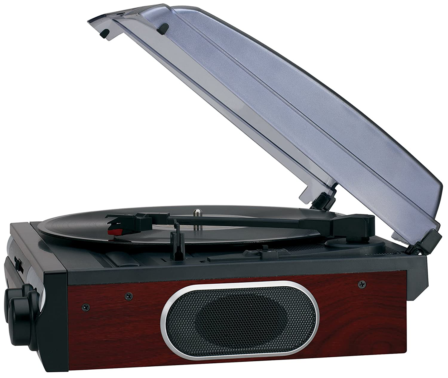 Superior Amazon.com: Jensen JTA 230 3 Speed Stereo Turntable With Built In Speakers:  Home Audio U0026 Theater